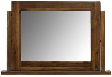 Mark Webster Kember Acacia Pedestal Mirror