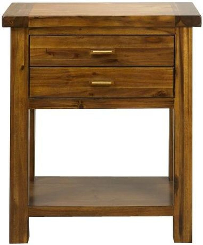 Mark Webster Kember Solid Acacia Console Table