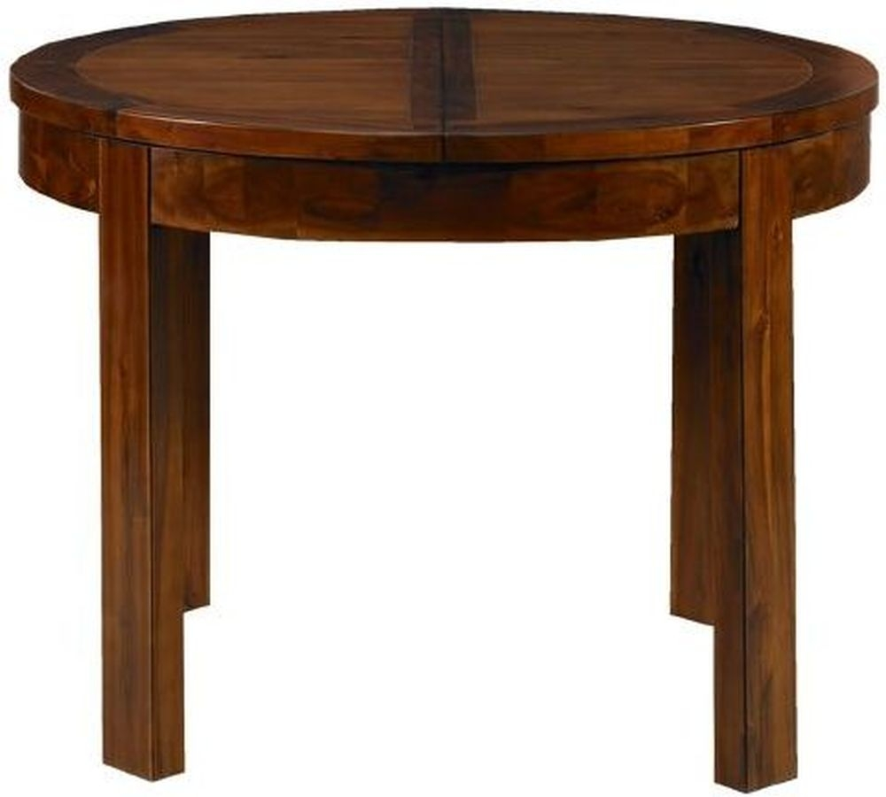 Mark Webster Kember Solid Acacia Round Extending Dining Table