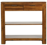 Mark Webster Kyoto Acacia 2 Drawer Console Table