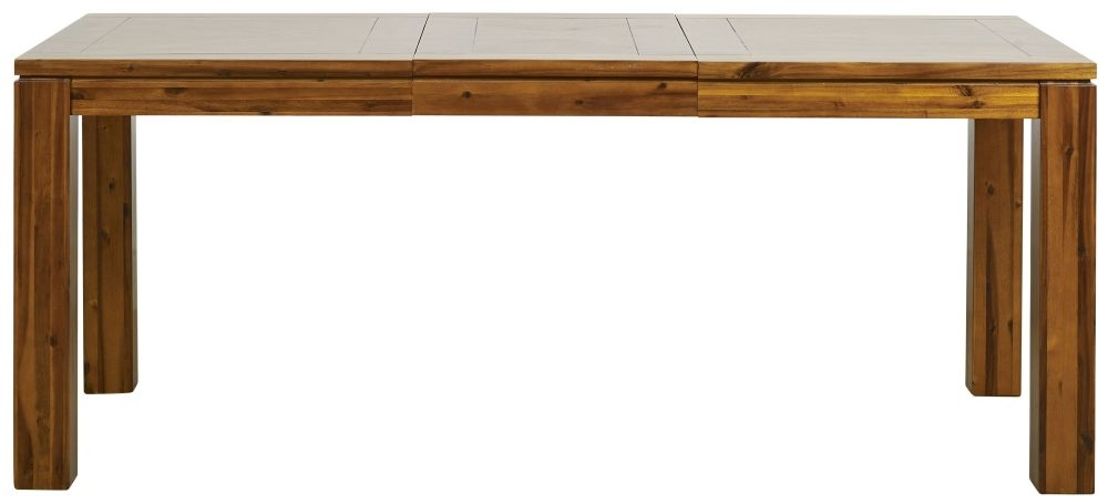 Mark Webster Kyoto Acacia Rectangular Extending Dining Table - 140cm-190cm
