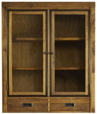Mark Webster Lambourne Glazed Hutch - Small 2 Door 2 Drawer