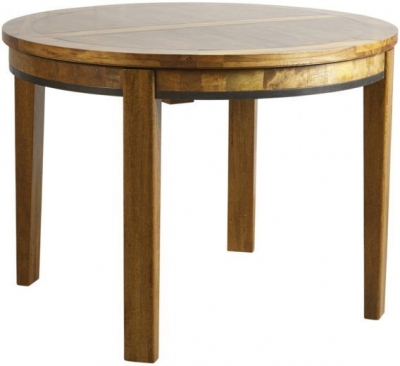 Mark Webster Lambourne Round Dining Table - Extending