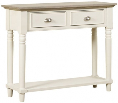 Mark Webster Lily Painted Console Table