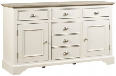 Mark Webster Lily Wide Sideboard - Grey Cashew