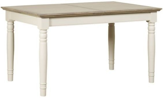 Mark Webster Lily Painted Dining Table - Small Extending