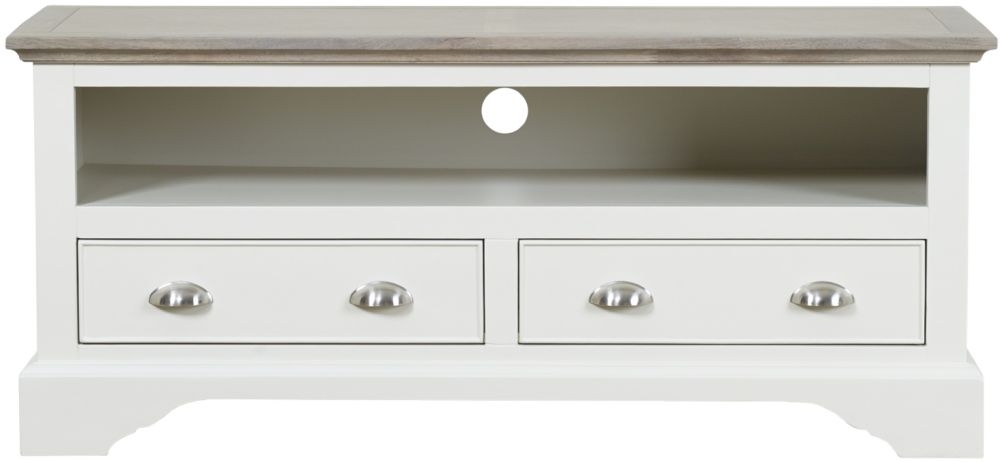 Mark Webster Lily TV Unit - Grey Cashew
