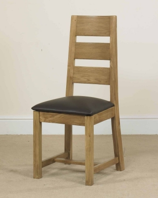 Mark Webster Linosa Oak Dining Chair (Pair)