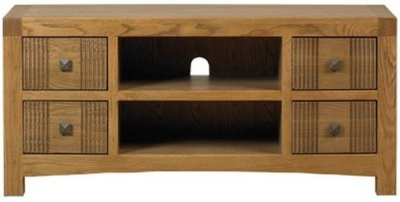 Mark Webster Linosa Oak Media Unit