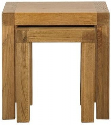 Mark Webster Linosa Oak Nest of Tables