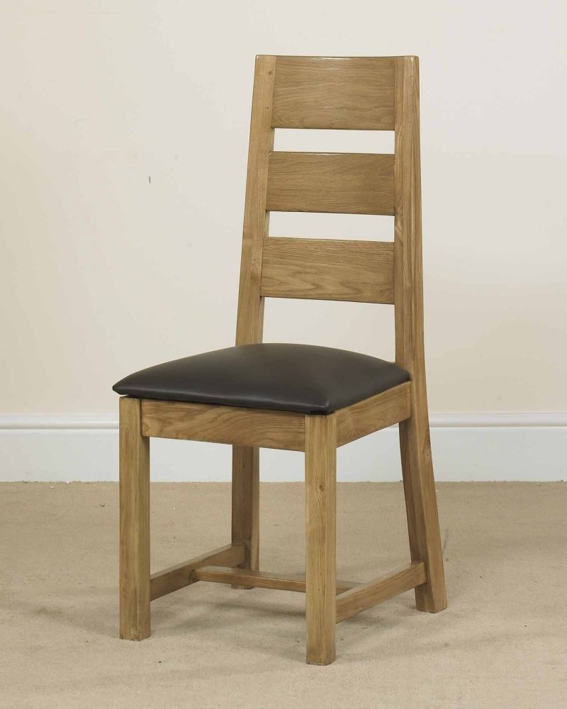 Mark Webster Linosa Oak Dining Chair (Pair)