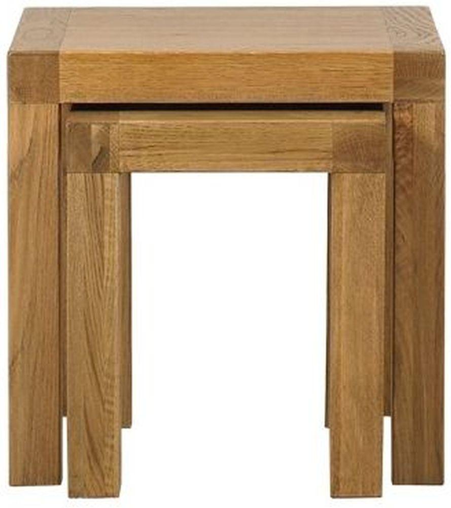 Mark Webster Linosa Oak Nest of Tables