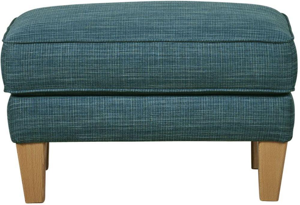 Mark Webster Maddison Celadon Fabric Footstool