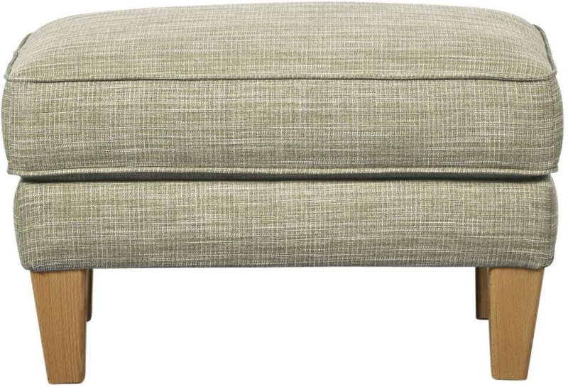 Mark Webster Maddison Clay Fabric Footstool