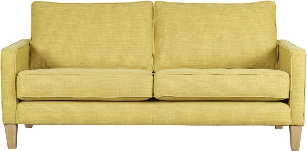 Mark Webster Maddox Ochre Fabric Sofa