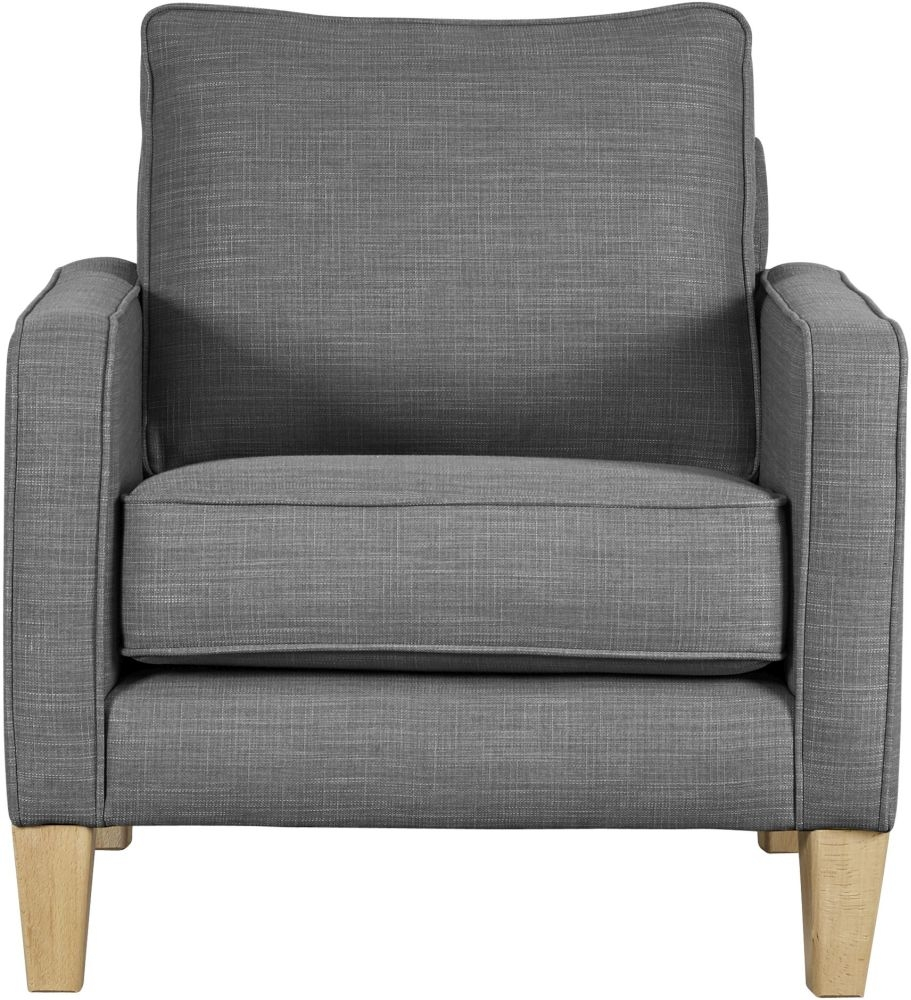 Mark Webster Maddox Pewter Fabric Chair