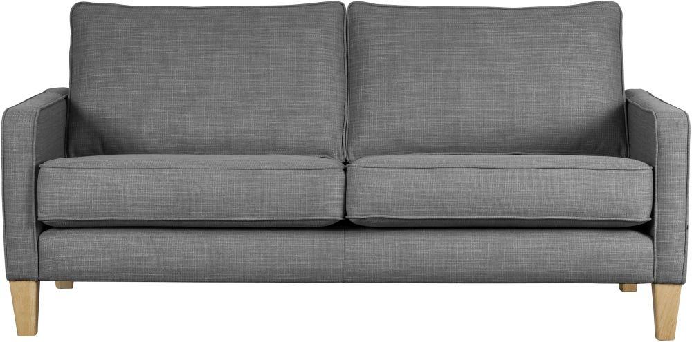 Mark Webster Maddox Pewter Fabric Sofa