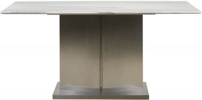 Mark Webster Milano Marble Top Rectangular Dining Table - 160cm