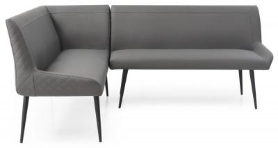 Mark Webster Morada Dark Grey Left Hand Facing Corner Sofa