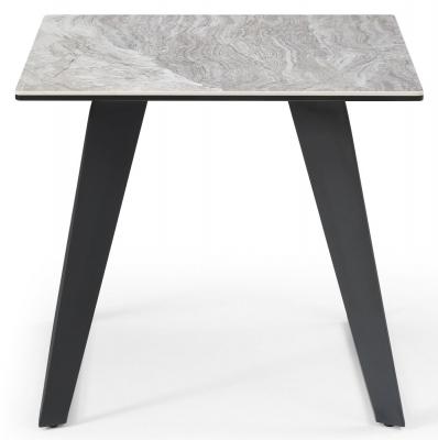 Mark Webster Morada Grey Lamp Table