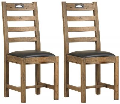 Mark Webster New York Ladder Back Dining Chair (Pair)