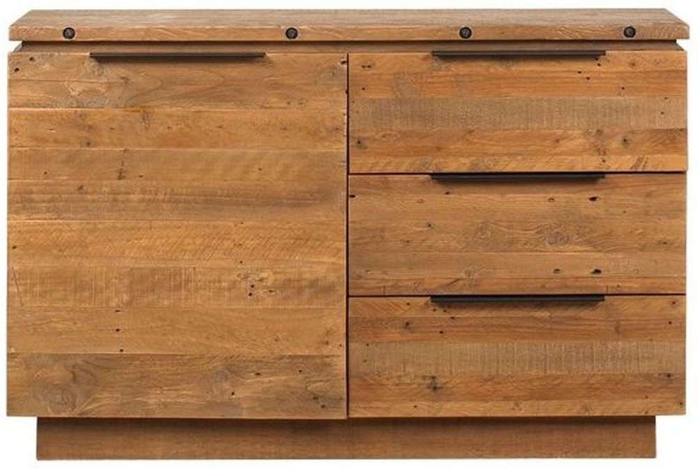 Mark Webster New York 1 Door 3 Drawer Narrow Sideboard