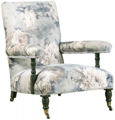 Mark Webster Ashcroft Floral Fabric Chair