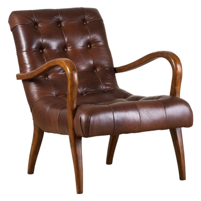 Mark Webster Brandon New Leather Chair