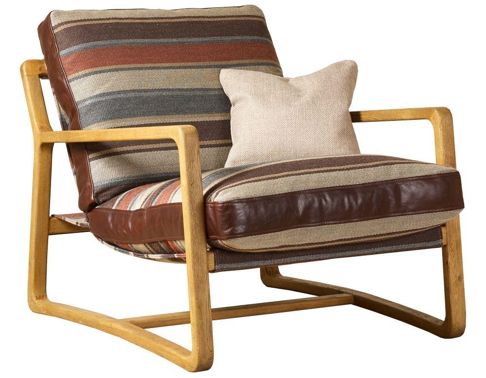 Mark Webster Caspar Fabric Accent Chair