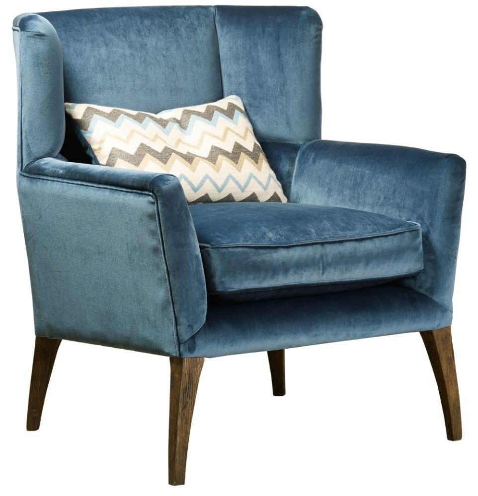 Mark Webster Larsson Fabric Accent Chair