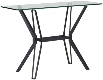 Mark Webster Somerest Glass Console Table