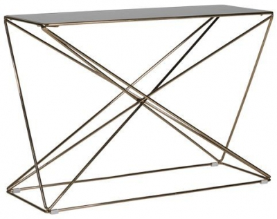 Mark Webster Treviso Glass Console Table