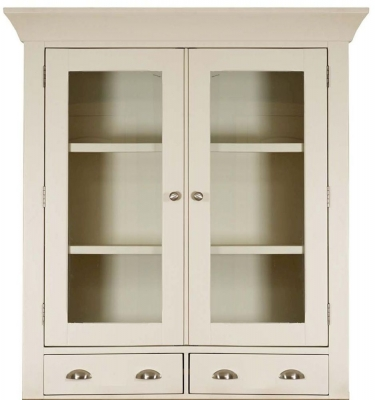 Mark Webster Padstow Painted Glazed Hutch - Small 2 Door