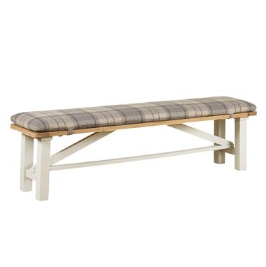 Mark Webster Padstow Painted Trestle Bench