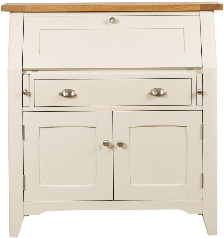 Mark Webster Padstow Painted Off-White Bureau
