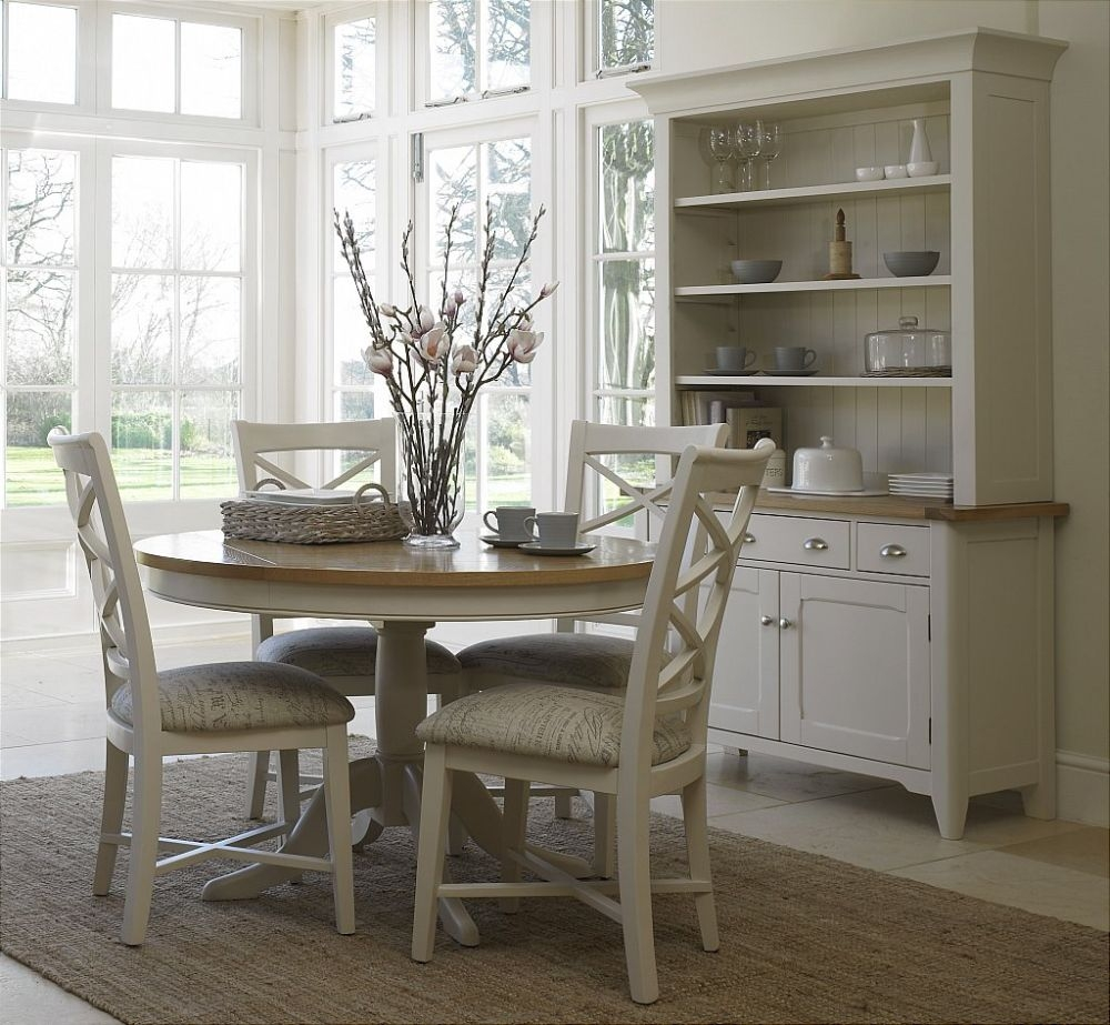 Round Kitchen Tables Uk Round Kitchen Table Sets For 7 Gallery Of Lovely Modern Dining