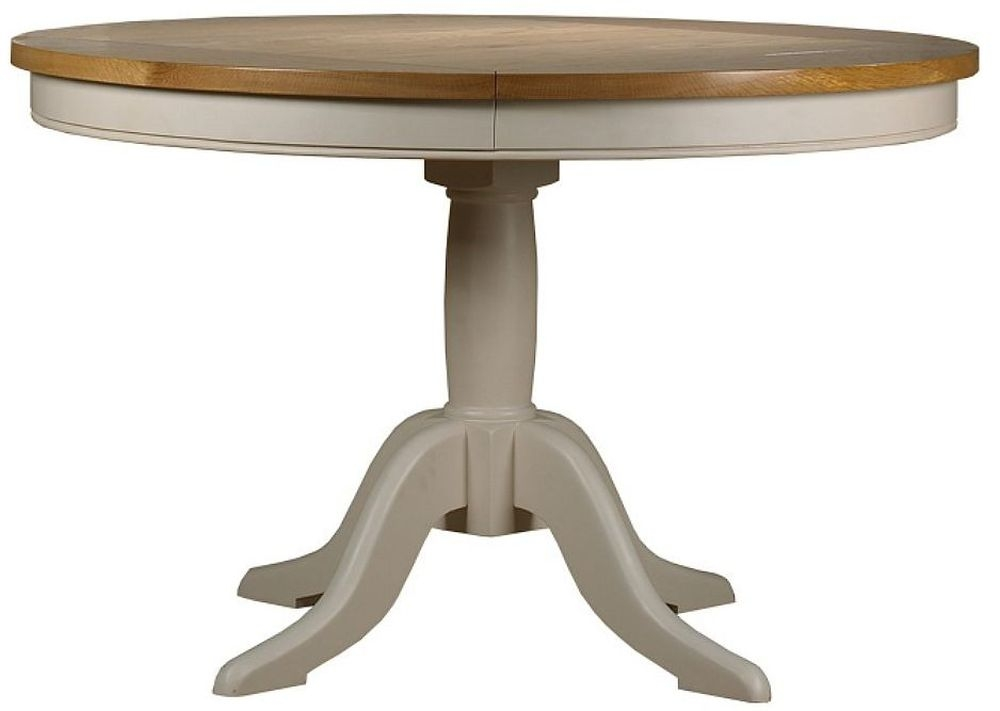 Mark Webster Padstow Painted Dining Table - Round Fixed Top