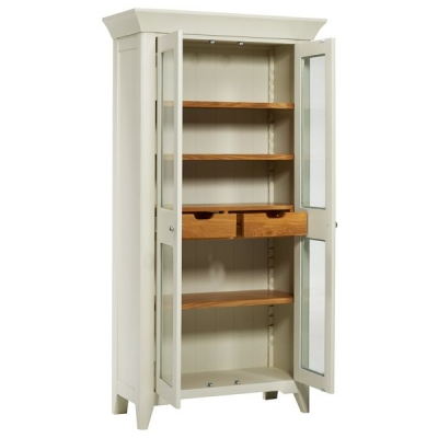 Mark Webster Padstow Painted Glazed Display Unit