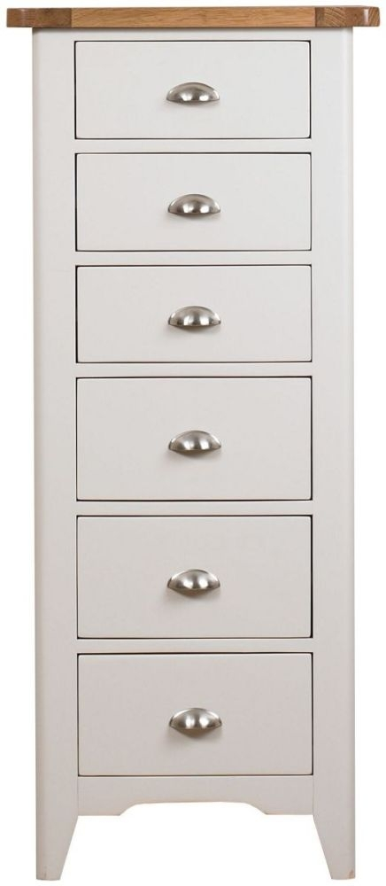Mark Webster Padstow Painted Chest of Drawer - 6 Drawer Tall