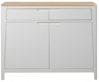 Mark Webster Painted Geo Sideboard - Small 2 Door 2 Drawer
