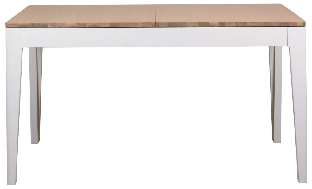 Mark Webster Painted Geo Dining Table - Large Extending