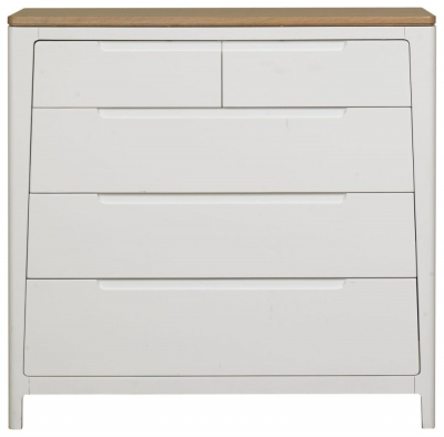 Mark Webster Painted Geo Chest of Drawer - 2+3 Drawer