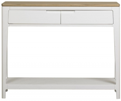 Mark Webster Painted Geo Console Table