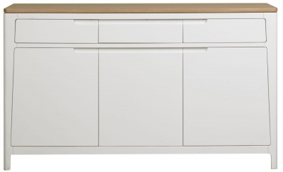 Mark Webster Painted Geo Sideboard - Large 3 Door 3 Drawer