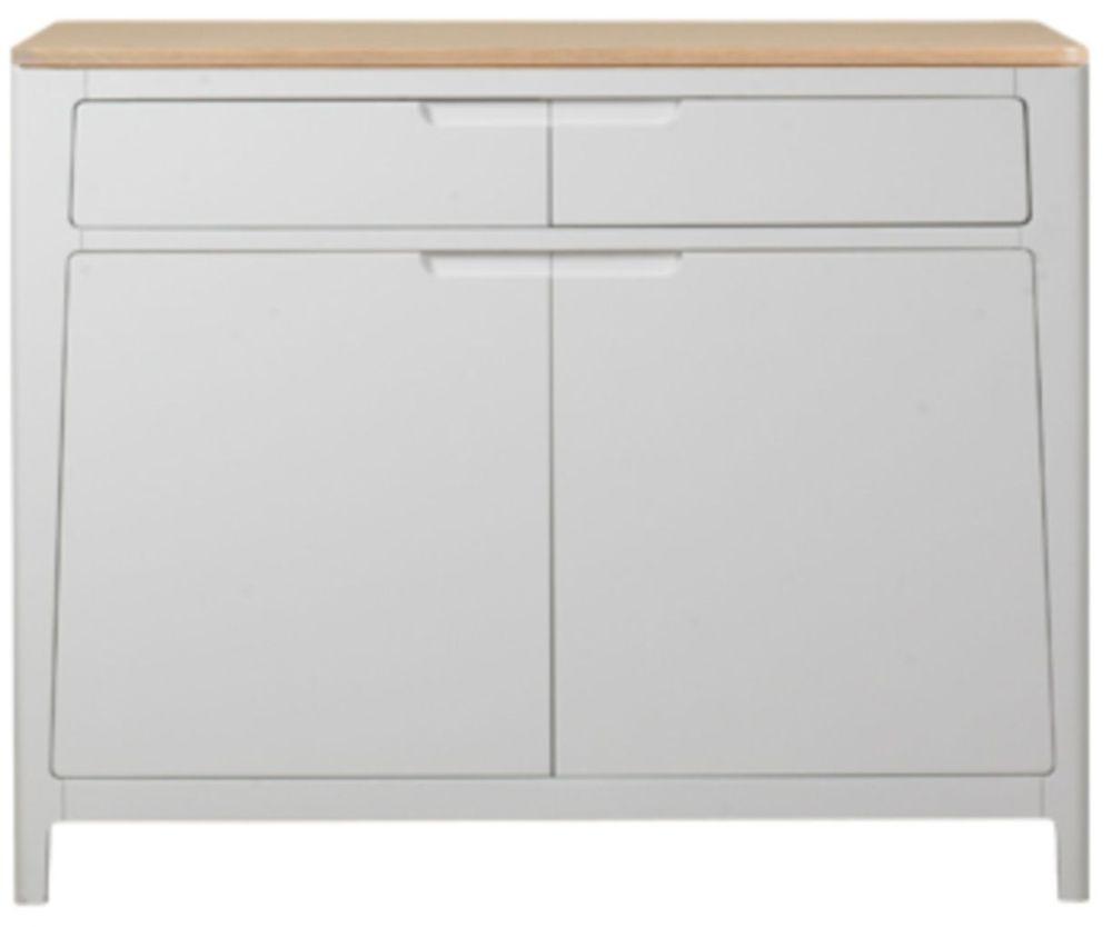 Mark Webster Painted Geo Sideboard - Small 2 Door 2 Drawer