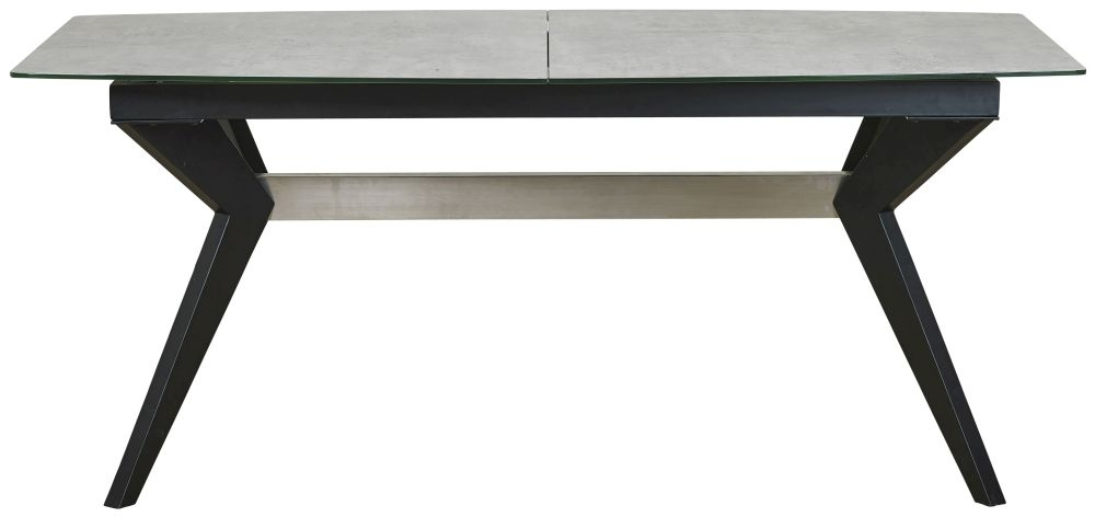 Mark Webster Soho Concrete Effect Extending Dining Table