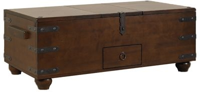 Mark Webster Trunk Beech Coffee Table