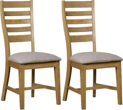 Mark Webster Waterford Oak Dining Chair (Pair)