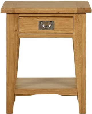Mark Webster Westport Oak Lamp Table