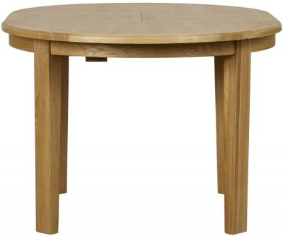 Mark Webster Westport Oak Round Extending Dining Table